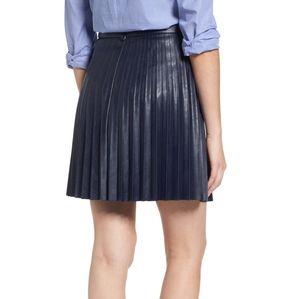 J. Crew Skirts - J Crew faux leather Miniskirt